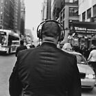 Headphones Stalking by Chris Gachot