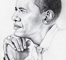 Obama by O J