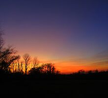 Uncle Norm's Sunset ~ R.I.P. by Debbie Robbins