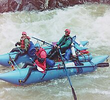 Rafting on the Animas River, Colorado, USA by Adrian Paul