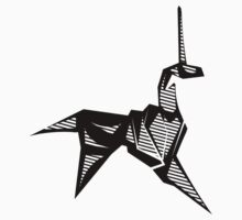 blade runner unicorn sticker by buzatron