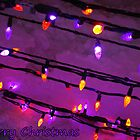 Christmas Lights - Christmas Card by Laura Berndt