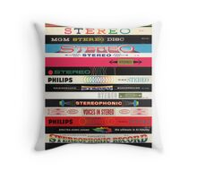 Stereo Stack Poster/Print #2 Throw Pillow