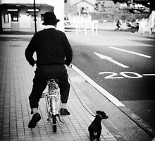 Man & Dog by jdcb42
