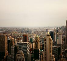 Infinite View - New York City by Vivienne Gucwa