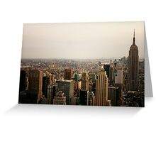 Infinite View - New York City Greeting Card
