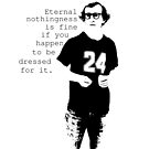 Woody Allen stencil by chiaraggamuffin