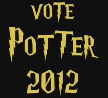 Vote Potter 2012 by jezkemp