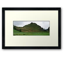 Parkhouse Hill pano Framed Print