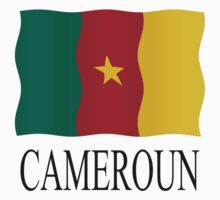 Cameroon flag by stuwdamdorp