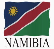 Namibian flag by stuwdamdorp