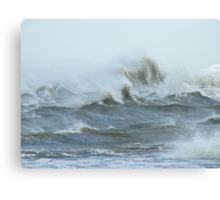Gale Warning - Diamond Shoals Outer Banks NC Canvas Print