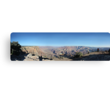 Canyon View Panorama Canvas Print