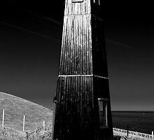 Lighthouse At Samphire Hoe by Jenn Louise