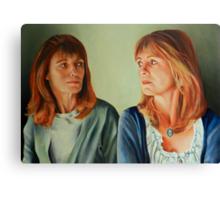 The Genetic Bond Canvas Print