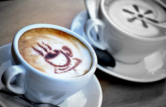 Art in a cup of coffee by Neha Singh