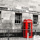 Red Telephone Box 3 by Zoe Toseland