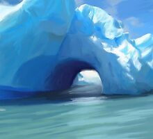 Antarctic Iceberg by komaro