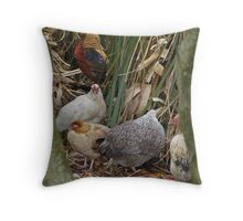 Intergrated family Throw Pillow