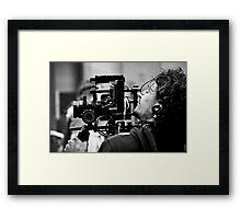 The Camera Man Framed Print