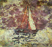 Sailing Lake Michigan by ElusiveMonarch