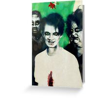 Merry Zombie Christmas Greeting Card