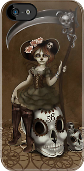 Girl 56 | Tarot Inspired Girl by Erica Rosario