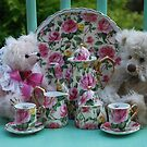 Little Bear tea party by Marjorie Wallace