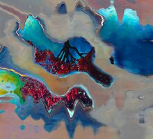 After The Storm_Reflections In Abstract Series by Diane Johnson-Mosley