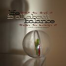Balance (words)  Vicki Ferrari Photography by Vicki Ferrari