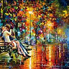 PASSION EVENING - LEONID AFREMOV by Leonid  Afremov