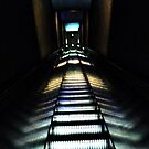 escalator  by Loretta Marvin