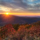 Oklahoma Mountain Sunset by Gregory Ballos | gregoryballosphoto.com