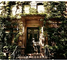 Ensconced - East Village - New York City Photographic Print