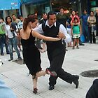 iT TAKES TWO TO TANGO -DANCING IN THE STREETS OF ARGENTINA by Iris  R
