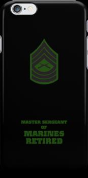 USMC E8 MSgt Retired BG by Sinubis