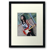 Backstage: 8146 Framed Print