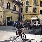 Biker Florencia by Randy Sprout