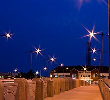Walking the Bridge - Jubilee Bridge, Innisfail NQ by Giovanna Devlin