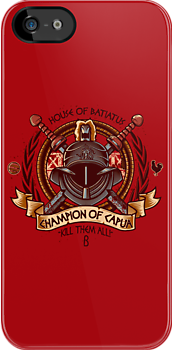 Champion of Capua (Iphone Case) by Bamboota