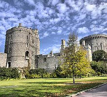 Windsor Castle (2) by Larry Lingard-Davis