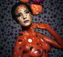 Polka Dot Babe by Glen Allison