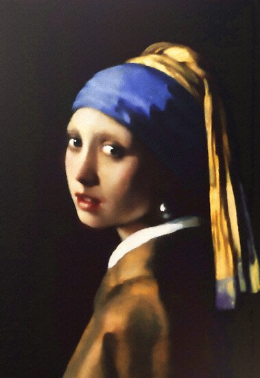 Rememberance Of Vermeer by Romanovna Fine Art Prints