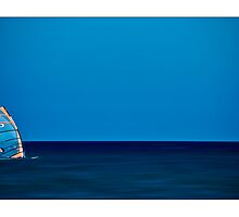 windsurfing by Enrico Martinuzzi