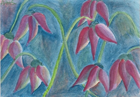 Strange tulips by acquart