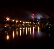 Canal Lights by Byron Kirk