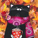 Autumn Leaves &amp; Cocoa by Annya Kai