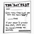 The Gay Test by wellastebu
