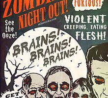 The Zombies Night Out! by Matthew Laznicka