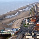 Blackpool from The Air. by Lilian Marshall